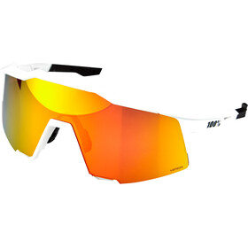 100% Speedcraft Gafas Alta, off white hiper red/HD multilayer/hiper